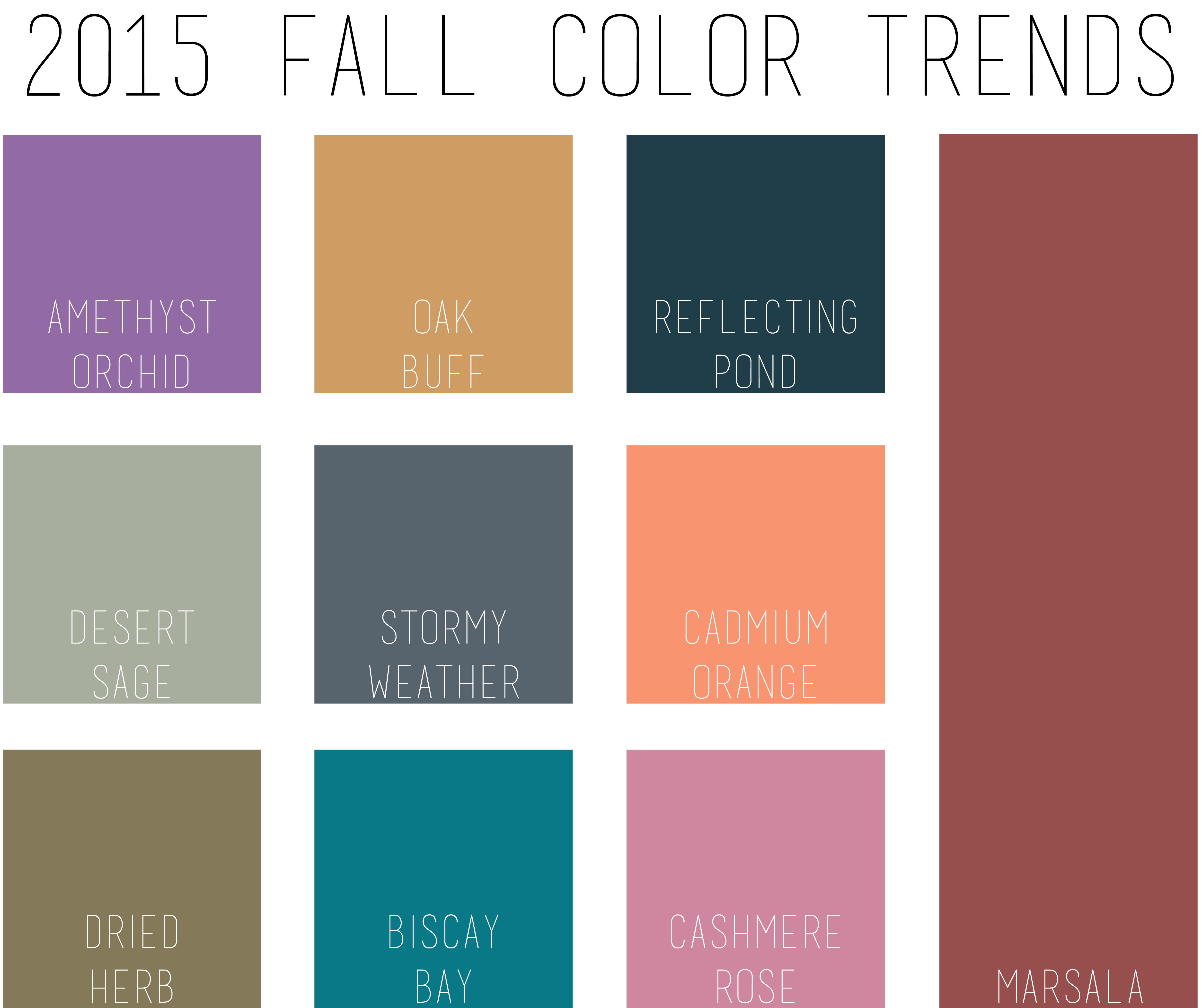 pantone fall 2015 2016 trends fall colors for 2015 28 ...
